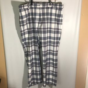 Nike Dri-Fit Tour Performance Golf Pants Plaid 38